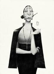 Sketchtober | 022 by BladMoran