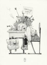 Sketchtober | 023 by BladMoran
