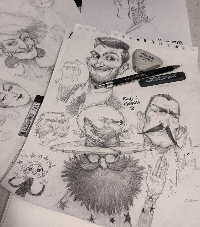 Sketches_02 by BladMoran