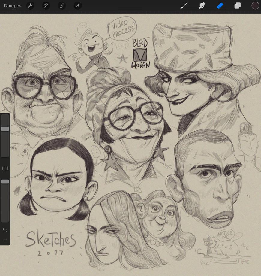 Sketches_03 by BladMoran