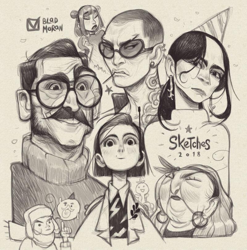 Sketches_04 by BladMoran