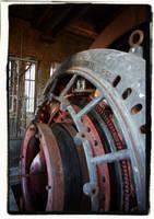Mine Wheel by Urbex
