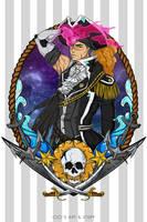 Voltron Pirate AU - Shiro (Pirate Captain) by CicisArtandStuff