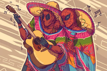 Marvel Mariachi by CicisArtandStuff