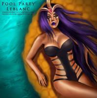 Pool Party Leblanc by yarahaddad