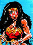 Wonder Woman card DtWT by swyattart