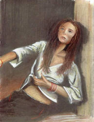 ABF Girl in Window by tbonematrix