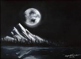 MoonlitLake by tbonematrix