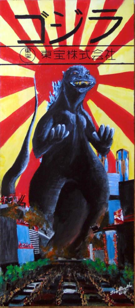 Godzilla -Inspired by Toho Corporation by tbonematrix