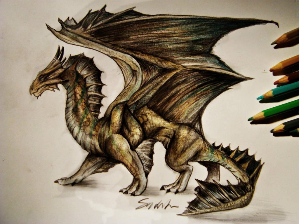 Bronze Dragon by Kinemesi