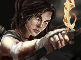 Lara Croft 2013 by littlesusie2006