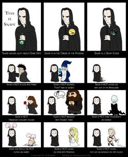 Snape is ... by criz