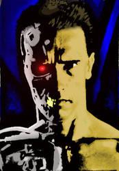 Terminator 2 judgement day. T-800 by DCSPARTAN117