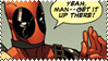 Deadpool Stamp 2 by foreverastone