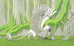 Thoronini - Elven Gryphon by Shadow-and-Flame-86