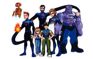Amalgam Heroes Rebirth: The Super Six by BobbenKatzen