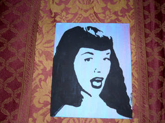 Bettie Page by agogo138