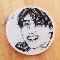 Embroidery nr2: for the birthday boy! by wtimetravelgentlemen