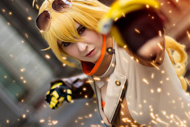 Yang Xiao Long RWBY Volume 5 by SCARLET-COSPLAY