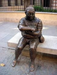 Sancho Panza by Autodidacta