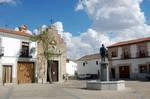 Plaza y ermita by Autodidacta