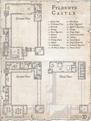 Fyldewyn Castle by DanielHasenbos