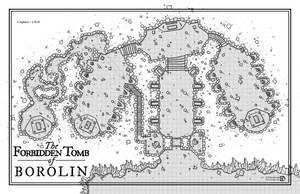 The Forbidden Tomb of Borolin by DanielHasenbos