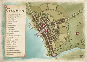 The City of Garven by DanielHasenbos