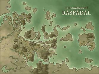The Swamps of Rasfadal by DanielHasenbos
