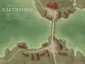 The Village of Eastbridge by DanielHasenbos