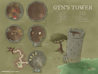 Gyn's Tower by DanielHasenbos
