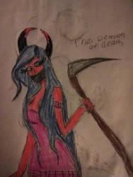 demon of death by BriannaNation12