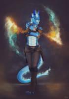 Fire Warrior by etrii