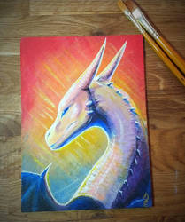 Dragon by etrii
