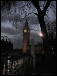 Big Ben by LintuAbiCrow