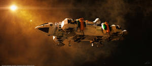 Space: 1999: Booster Eagle by Tenement01