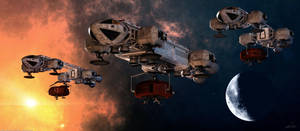 Space: 1999 - Collision Course Alpha's Defence by Tenement01