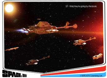 Space: 1999 - Trading Card 37 by Tenement01
