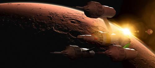 Blake's 7 - Mars by Tenement01