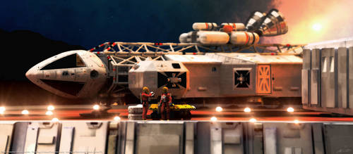 Space: 1999 - Booster Eagle by Tenement01