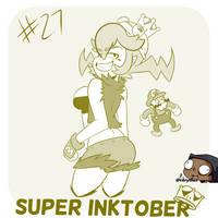 Super Inktober - Warioette!!!! by CorytheC