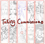 Taking Commissions by AcheronHades
