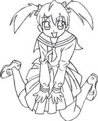 Schoolgirl by AriellValkyria