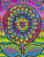 Rainbow Flower (FOR SALE) by HGCreations