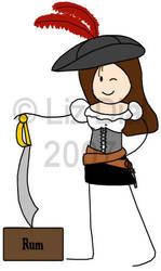 OotS style pirate by skittlesgenesis