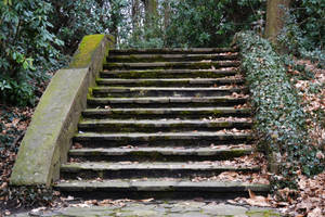 Stone stairs by FrankAndCarySTOCK