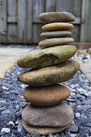 Stacked stones by FrankAndCarySTOCK