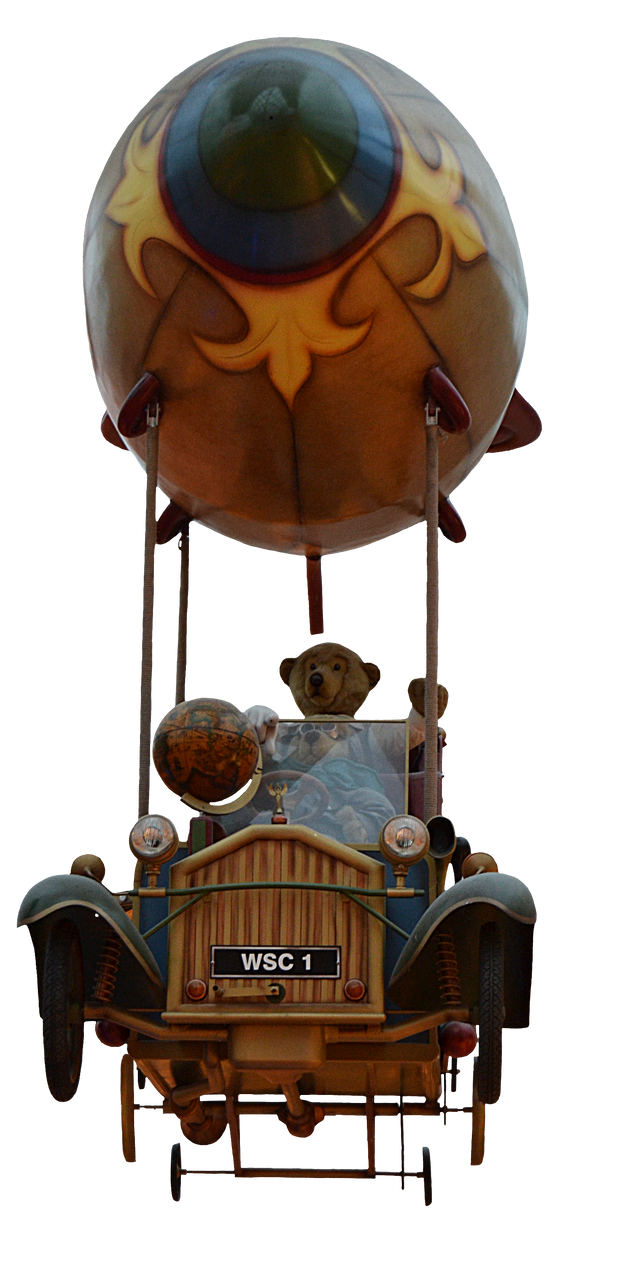 Flying Car by FrankAndCarySTOCK