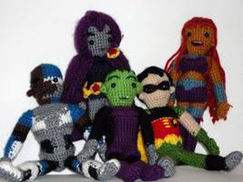 Titans Together by leftandrightdolls