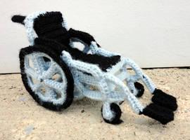 Wheelchair by leftandrightdolls